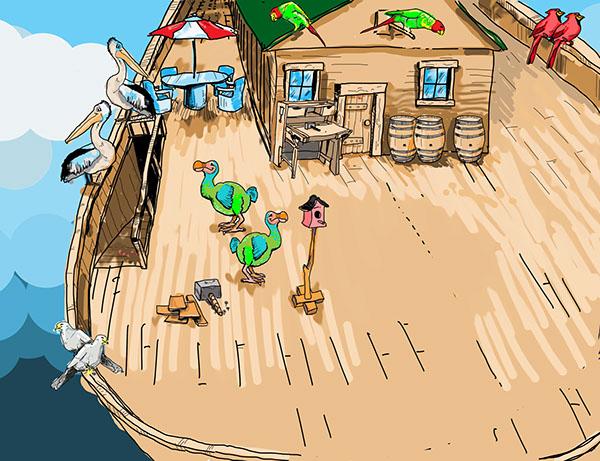 noahs ark game play