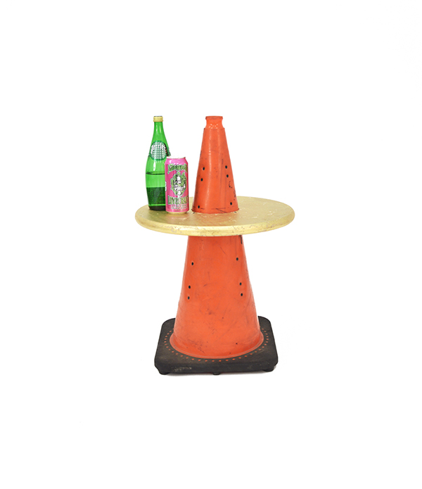 Amazing Traffic Cone Table. Furniture Design