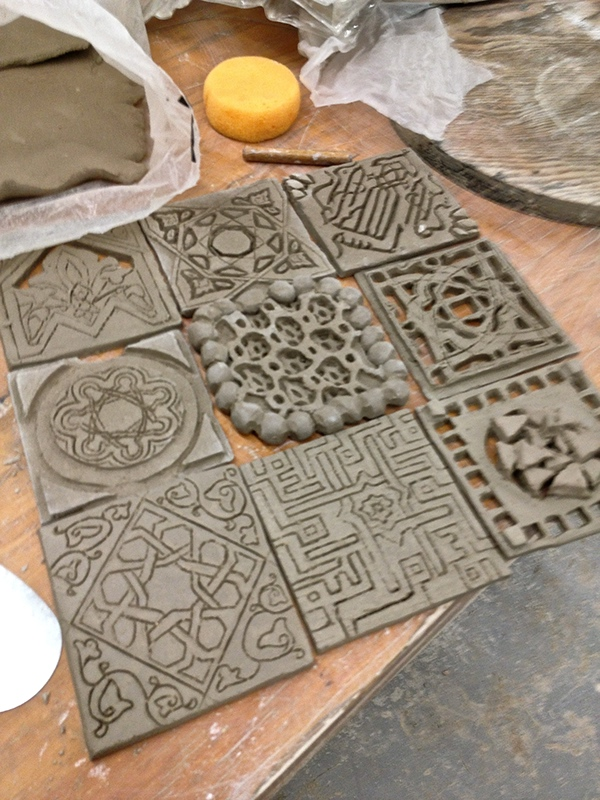 Ceramic Tiles On Risd Portfolios