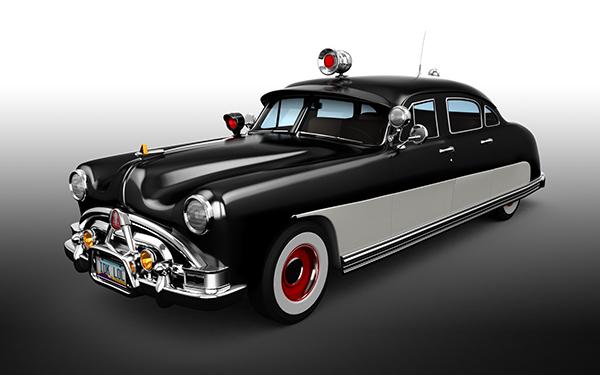 1951 Hudson Hornet Police Cruiser On Ccs Portfolios