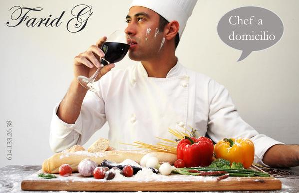 chef a domicilio on behance