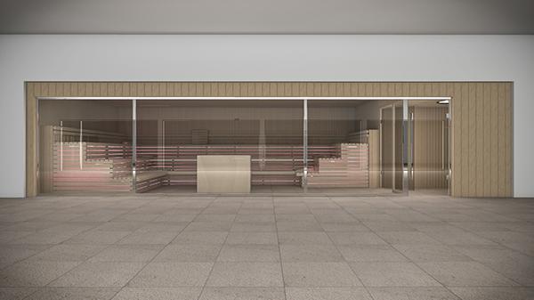 interiors 3D CG Render rendering Wellness Sauna design FormZ Artlantis photoshop