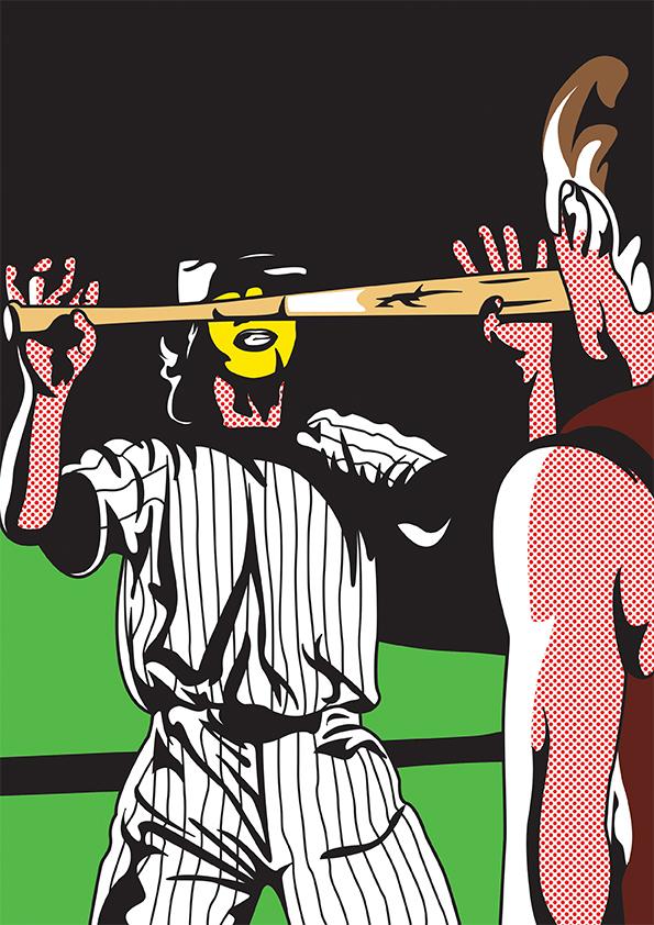 The Warriors warriors coney island Baseball Furies Turnbull ACs