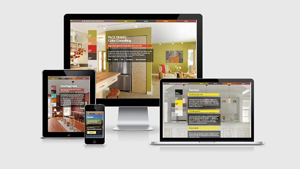 Page frantz color consultant website on pratt portfolios for Design and development consultants
