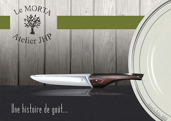 Couteau de table morta on behance - Couteau de table ...