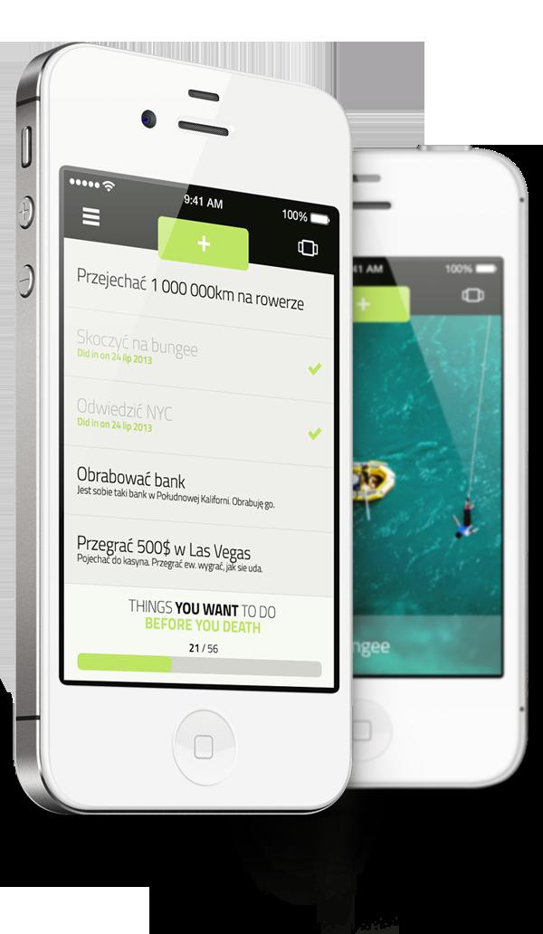 iphone app ios apple design UI radziu user interface application mobile