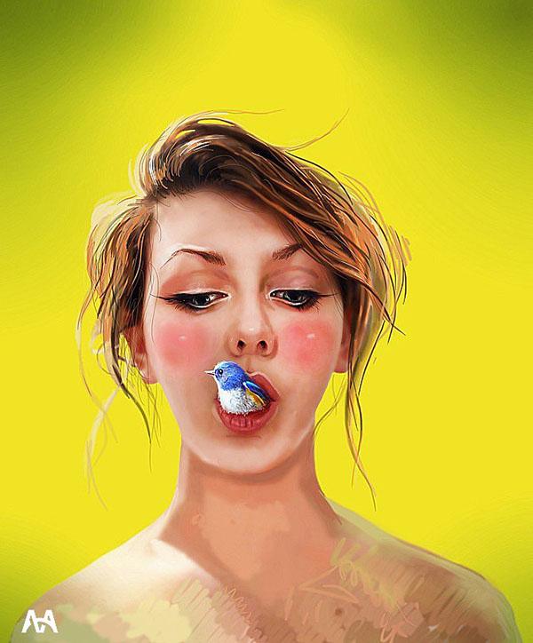 Digital Art by Alisa Mezhenska