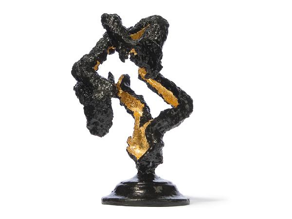 Zagara Soil of Ardour gold silver concept model beauty female nude dutch Dutch design Sustainalble  durable Bright Dusk
