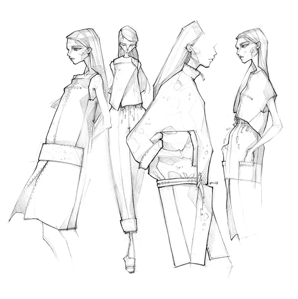 spring 2015  sketches on behance