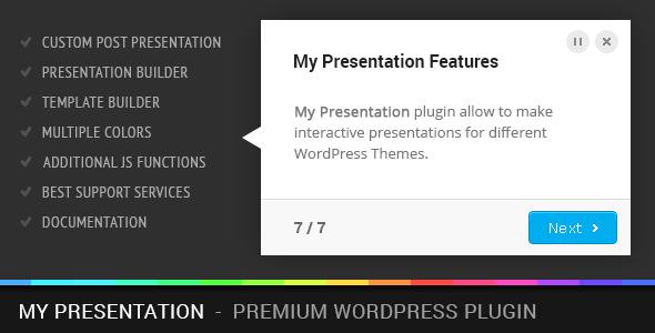 My Presentation Premium WordPress Plugin