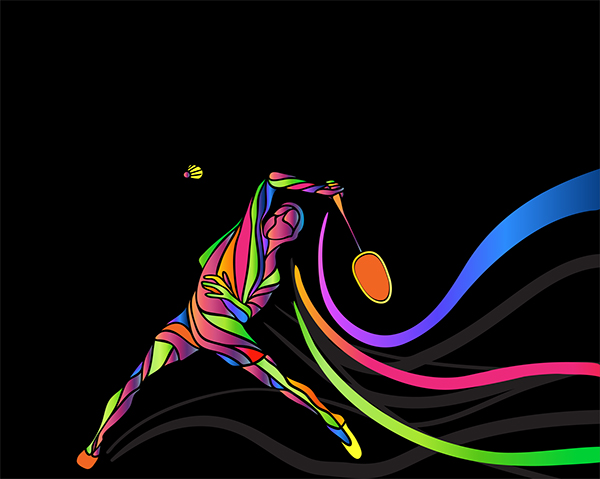 Badminton Sport Posters