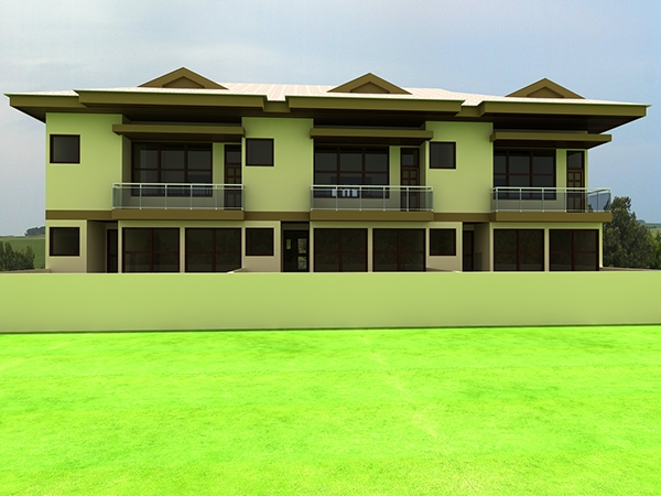2 bedroom apartments kumasi ghana on behance for Apartment plans in ghana