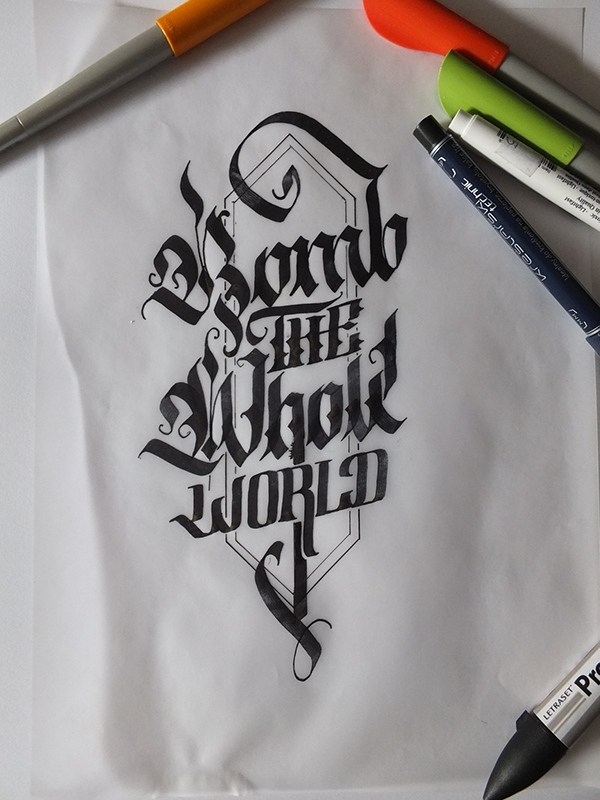 Calligraphy Pack 2 On Behance