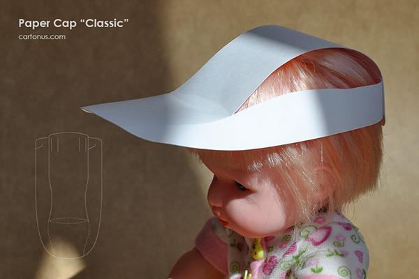 Paper Cap Template  U0026quot Classic U0026quot  On Behance