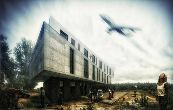 hotel airport ukraine architectural project architectural design Kyiv architect