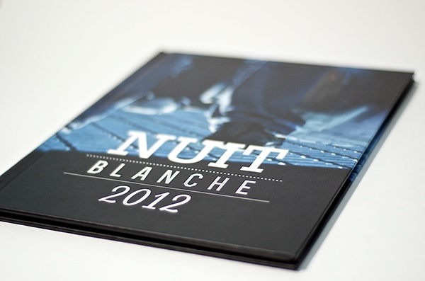 Nuit Blanche Toronto editorial book