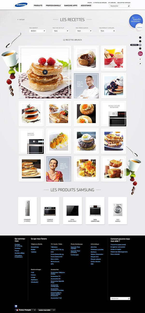 Samsung electrical appliances domestic household microwave parallax minimal moment brunch hightech cook cooking oven kitchen
