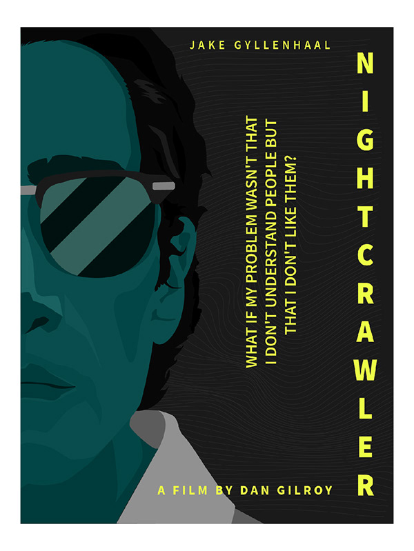 Series of minimal Movie Posters