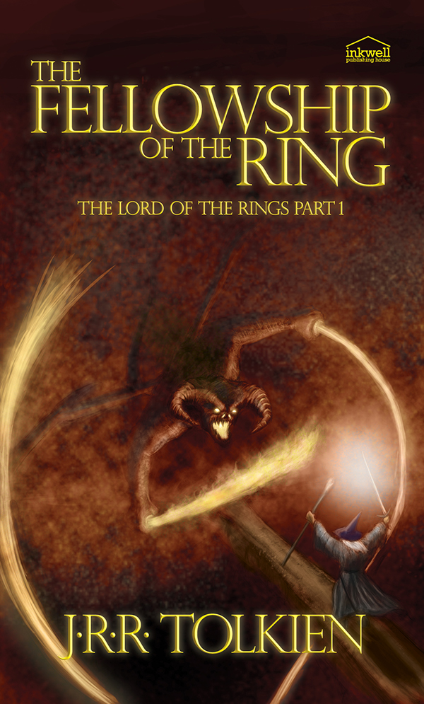 The Lord Of The Rings Book Covers on Behance