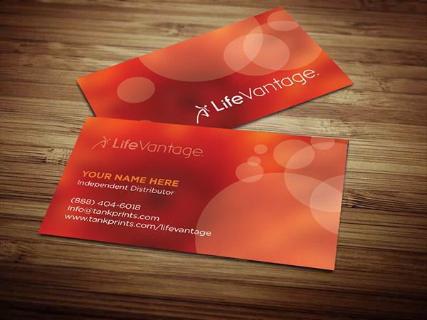 Kinkos Business Cards Prices: Lifevantage Business Cards