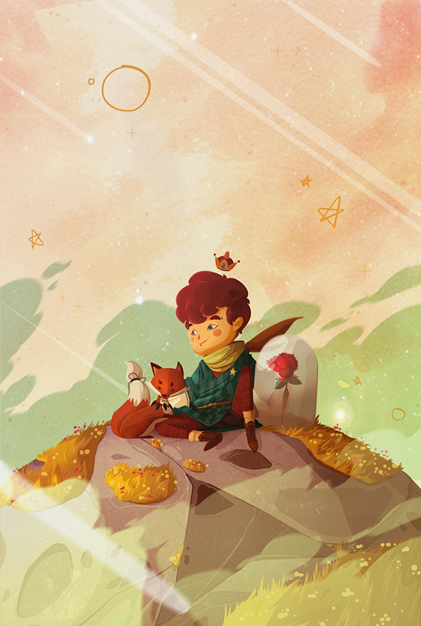 graphic design book illustration ideas le petit prince