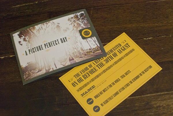 Overnight Wedding Invitations: Trementozzi Wedding Invitations On Behance