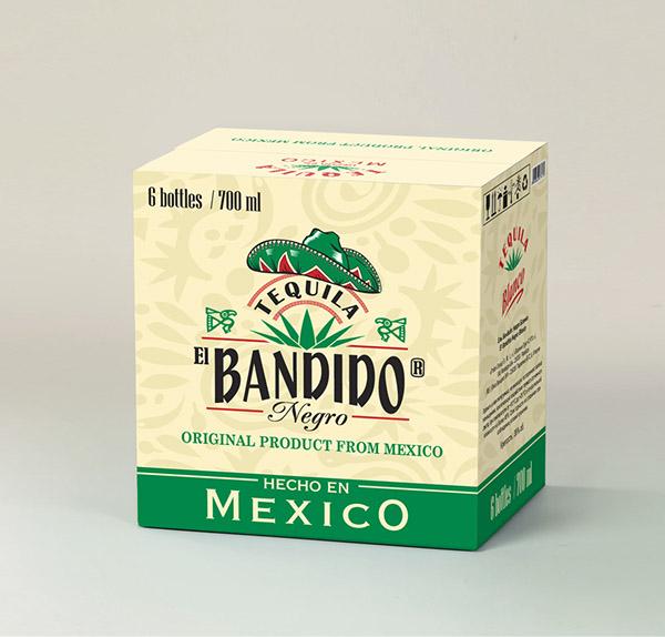 El Bandido Negro Tequila