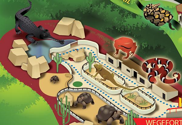 San Diego Zoo On Behance - San diego zoo map