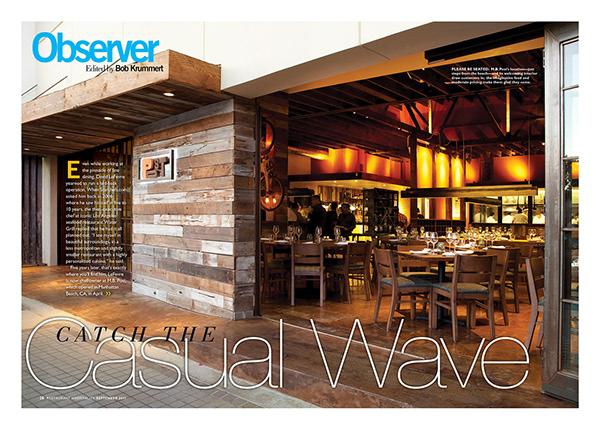 Restaurant Design and Interior Spaces