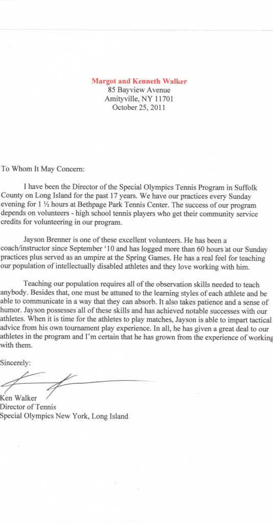 Letter From Teacher To Nfl Player