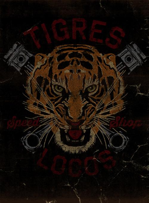 TIGRES LOCOS - LA MARCA DEL DIABLO by Maleficio Rodriguez