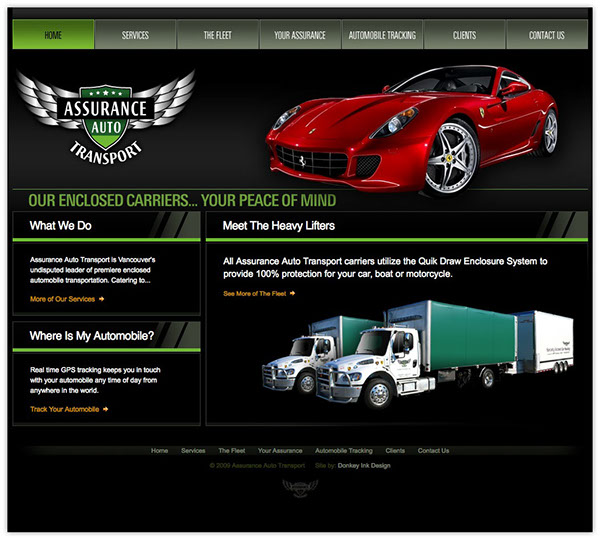 assurance auto transport on the adweek talent gallery. Black Bedroom Furniture Sets. Home Design Ideas