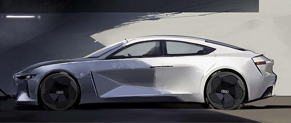 Electric Sports Sedan