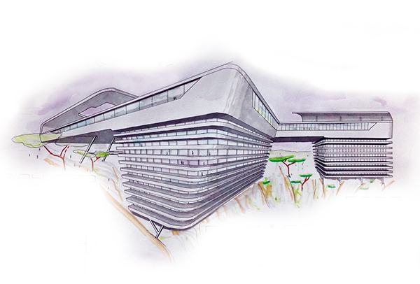 Futuristic Architecture Drawing Architecture Drawing