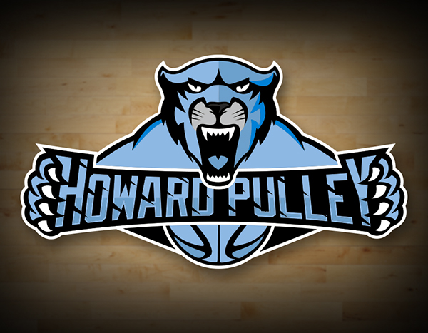 howard pulley basketball logo on student show Lady Panthers Basketball Logo Carolina Panther Roar
