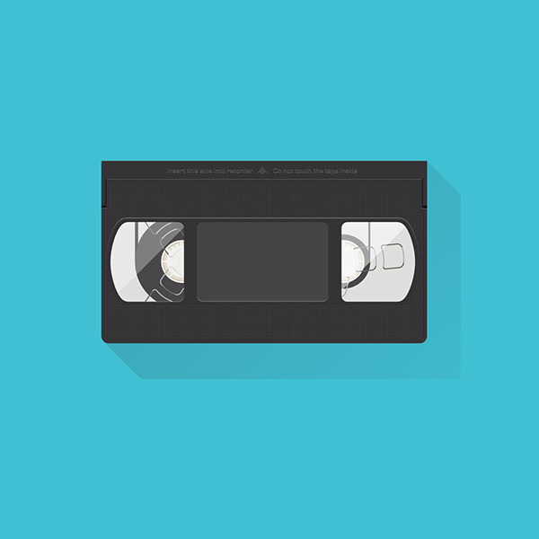 Vhs flat design on behance sciox Gallery