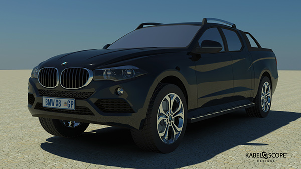 Bmw Twin Cab >> The BMW X8 Concept on Behance