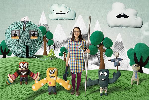 Made by Marisa handmade toys Stufftoys cushion