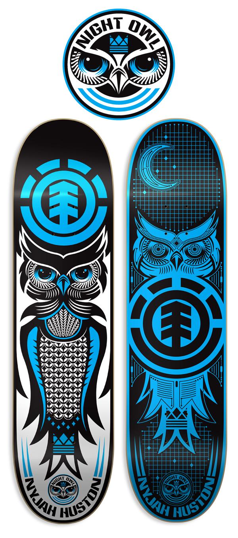 Element Skateboards On Behance