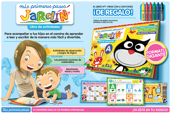 Revista jard n mis primeros pasos on wacom gallery for Revista jardin genios 2016