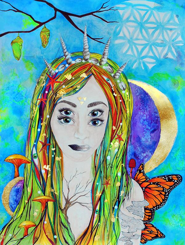 Trans-Dimensional by Christina Zouras