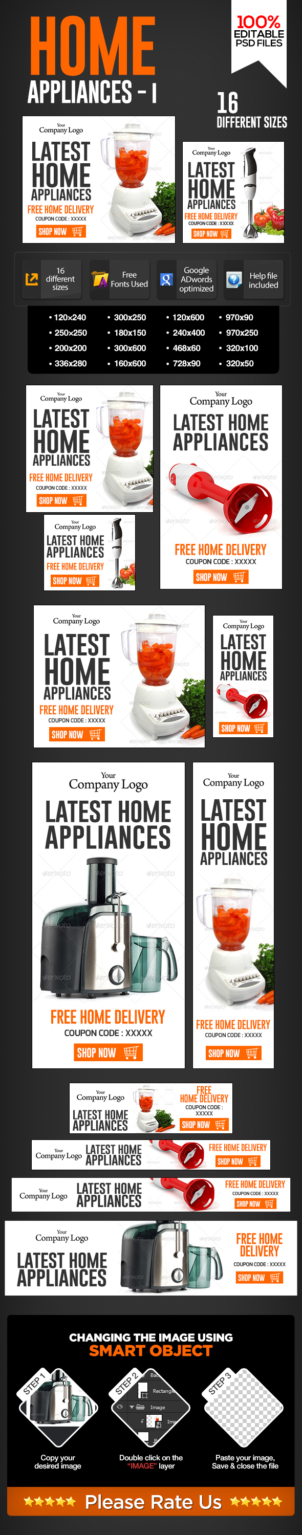 Banners For Electronics Home Appliances On Behance