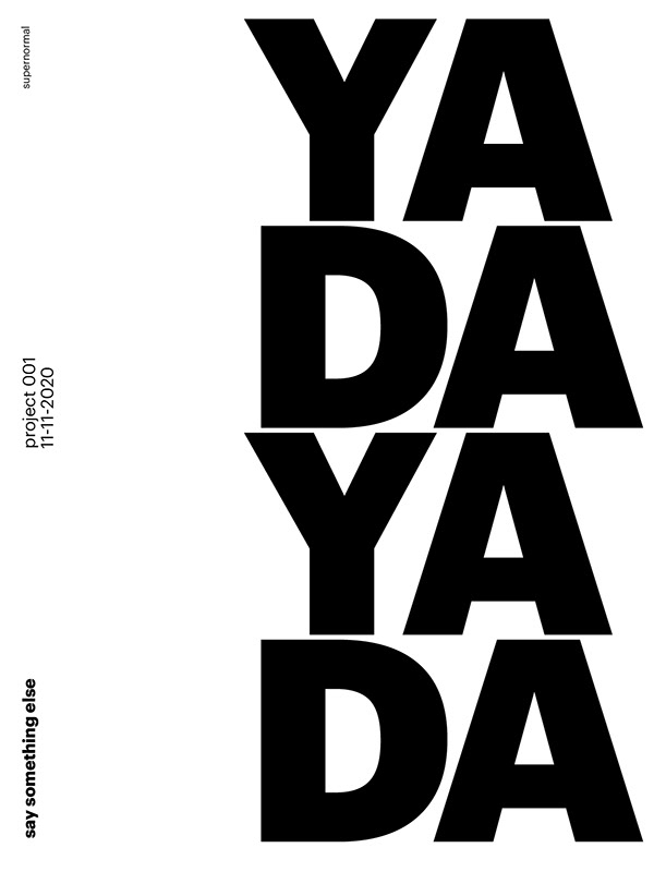 type Poster project