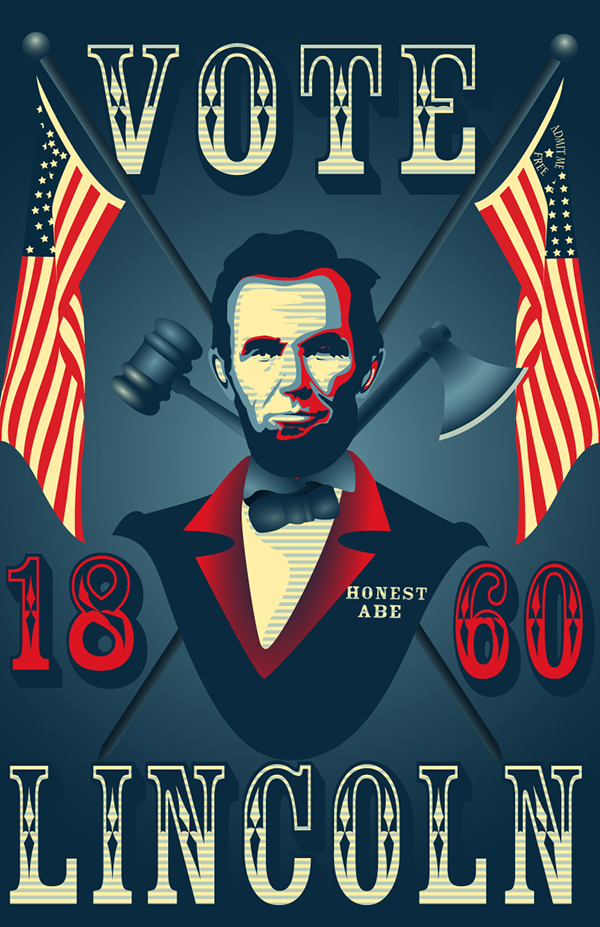 America Will Never Be Destroyed - Abraham Lincoln - NEW ... |Abraham Lincoln Poster Lax