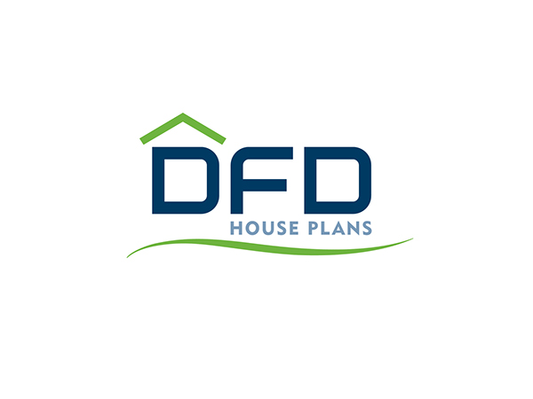 DFD House Plans Identity on Behance