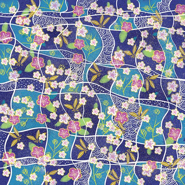 Spring inspiration flowers set