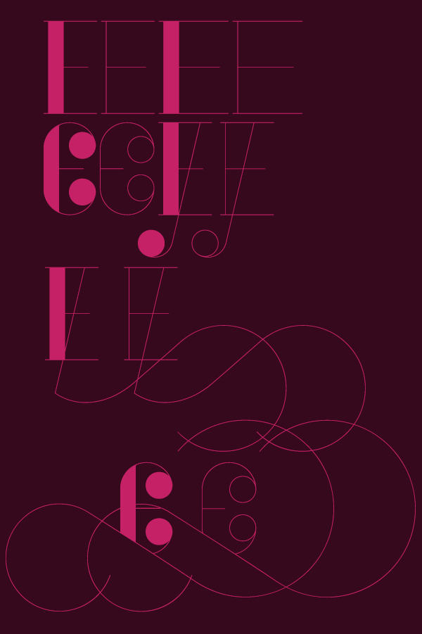 Typeface Didone bodoni Didot font contrast Display high-contrast glamour swash Ligatures magazine exuberant editorial Swashes