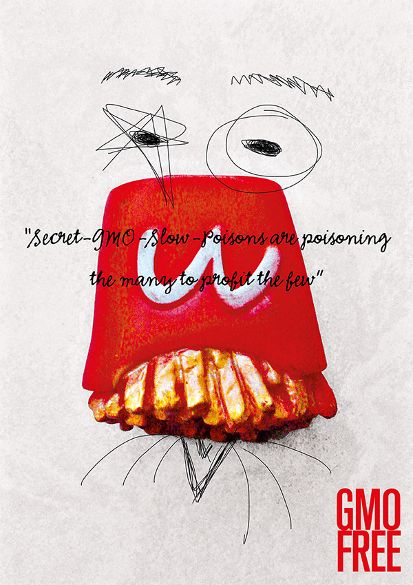 green+you gmo-free poster contest Francesco Mazzenga
