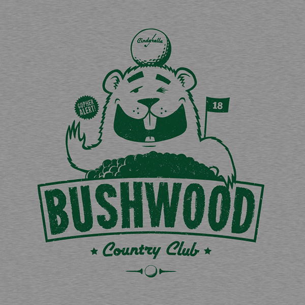 bushwood country club on behance
