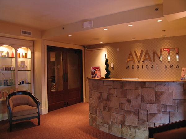 Medical day spa interior designer avanti medispa on behance for Day spa decorating ideas